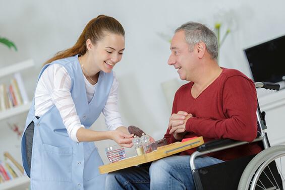 aide soignant en apprentissage